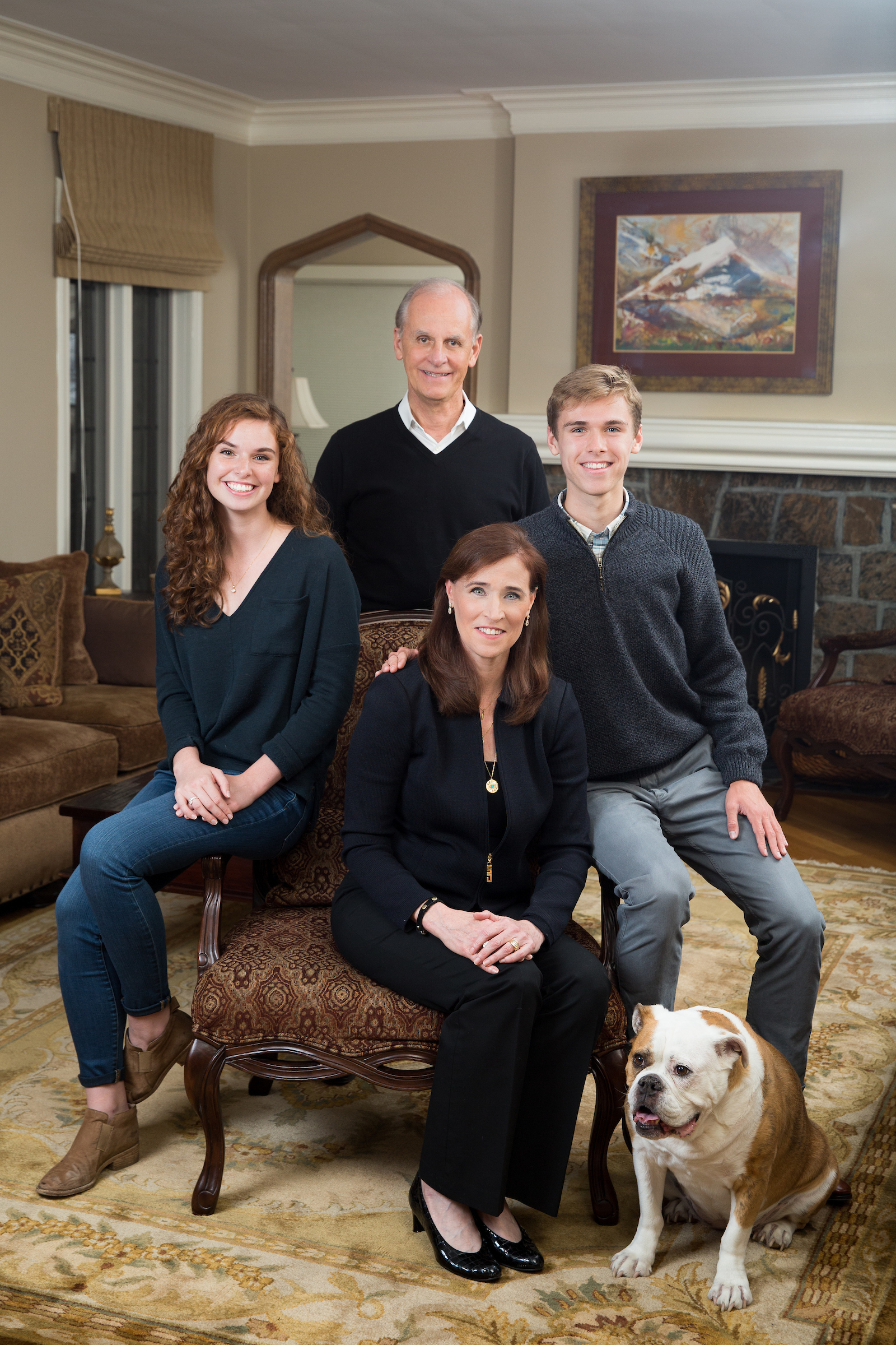 Riordan-Gatewood family, September 2018