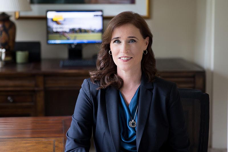 Christine M. Riordan, Adelphi president